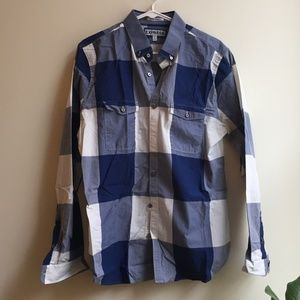 LIKE NEW Express Long Sleeve Button Down